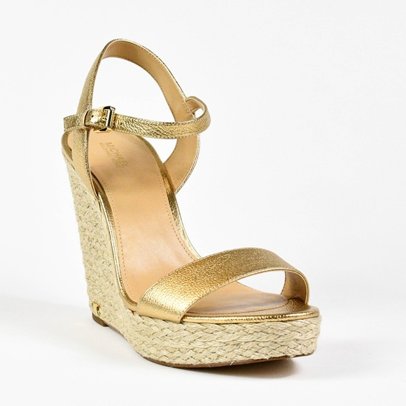 a66011891afd Michael Kors Women s Jill Espadrille Wedge Sandals